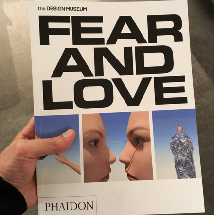 Fear and Love exhibition catalogue, with essays by @bruces @johnthackara @SaskiaSassen JM Ledgard and others. Design by @OK_RM